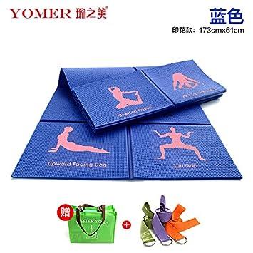 YOOMAT De Espesor Ancho extendido Antideslizante Yoga Mat ...