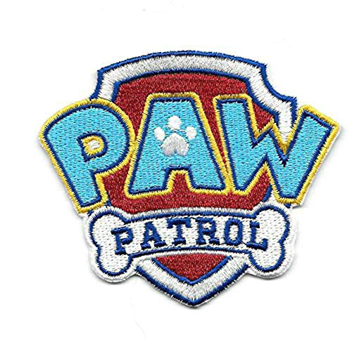 - Paw Patrol Embroidered Iron On/Sew On Patch