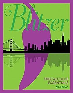 Precalculus essentials 4th edition standalone book robert f precalculus essentials 5th edition fandeluxe Images