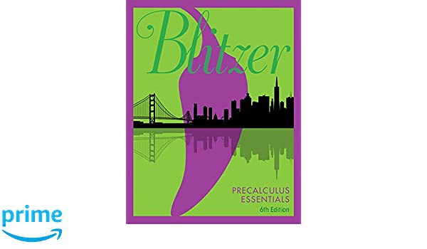 Precalculus essentials 5th edition robert f blitzer precalculus essentials 5th edition robert f blitzer 9780134578156 amazon books fandeluxe Image collections