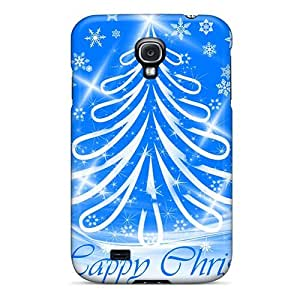 High-end Case Cover Protector For Galaxy S4(happy Christmas)