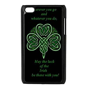 Custom LiuXueFei Phone caseLucky Clover For Apple Iphone 6 Plus 5.5 inch screen Cases -Style-4
