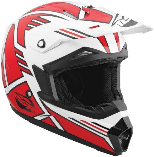 (MSR Helmet Visor for Assault Graphic Helmet - Red/White)