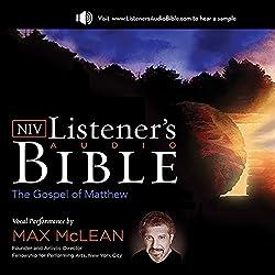 The NIV Listener's Audio Bible, the Gospel of Matthew
