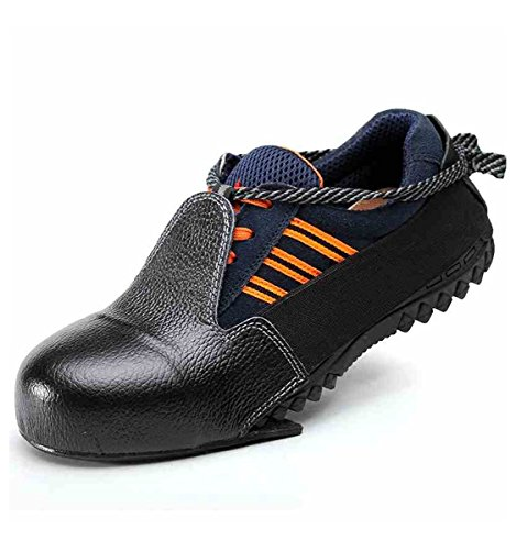 Anti Smashing Steel Toe Shoe Cover Work Safety Toes Protection Overshoes Worker Vistor Safety Shoes by CPTDCL