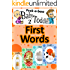 First Words (Peekaboo: Baby 2 Toddler) (Kids Flashcard Peekaboo Books: Childrens Everyday Learning)