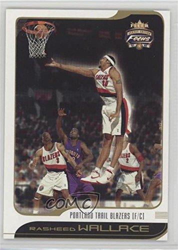 (Rasheed Wallace (Basketball Card) 2001-02 Fleer Focus Jersey Edition - [Base] #57)