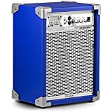 Caixa de Som Frahm Lc 350 App Amplificada Multiuso Usb, Sd e Bluetooth - 80 Watts Rms - Azul