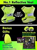 Reflective Vest Running Gear - Be Visible Stay Safe
