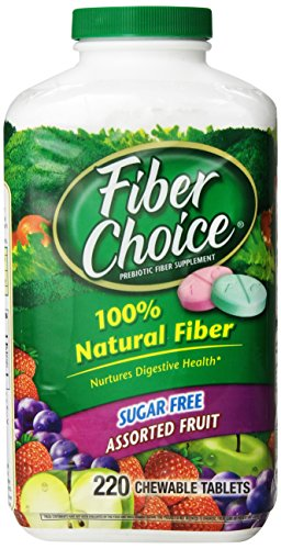 Fiber Choice Sugar Free Assorted Fruit 220 tblts