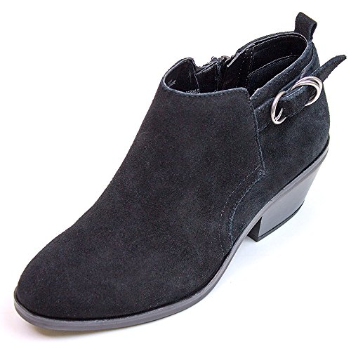 WHITE MOUNTAIN Shoes 'Sadie' Women's Bootie, Black - 9.5 M