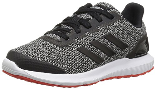 adidas Boys' Cosmic 2 Sl k, core Black/core Black/core red, 4 M US Big Kid