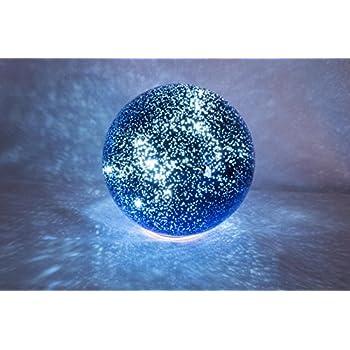 Amazon Com Led Lighted Celestial Reflecting 8 Quot Globe