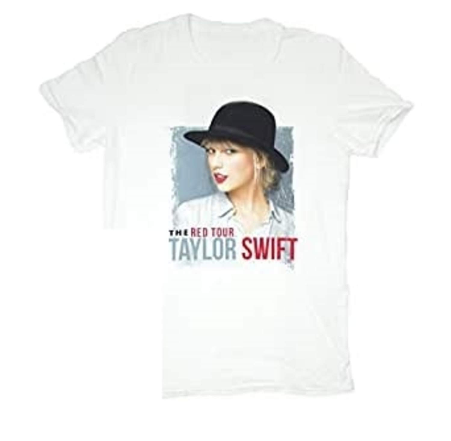 Taylor Swift T Shirt Vintage White Hat Tour Tee Youth Small Medium X Large Buy Online In Gibraltar At Desertcart