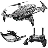 MightySkins Skin For DJI Max Coverage - Floral Retro | Protective, Durable, and Unique Vinyl Decal wrap cover | Easy To Apply, Remove, and Change Styles | Made in the USA