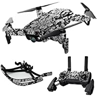MightySkins Skin for DJI Mavic Air Drone - Floral Retro | Max Combo Protective, Durable, and Unique Vinyl Decal wrap cover | Easy To Apply, Remove, and Change Styles | Made in the USA