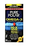 Pure Polar Labs Omega3 Double Strength Shrimp Oil, 50 Count