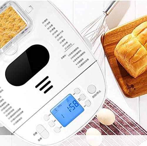 Snel Bakken-beginner, Broodbakmachine Met Thermostaat, Geschikt Voor 2-6 Personen, Automatisch Uitgespreid, 13-uurs Reserveringsfunctie En 30 Menu's