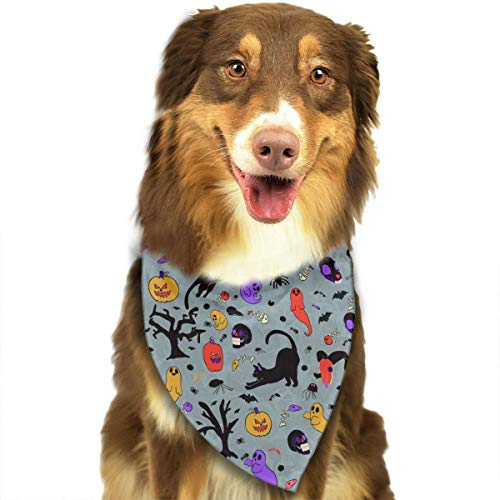 Agem Household Items Adjustable Dog Bandanas Halloween Funny