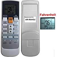 Replacement for Fujitsu Air Conditioner Remote Control Model Number AR-RAH2U works for ASU18RLF ASU18RLXS ASU24RLF ASU24RLXS ASU30RLX AUU12RLF AUU18RLF AUU9RLF
