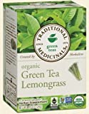 TRADITIONAL MEDICINALS TEA,OG1,GRN TEA W/ LMNGRS, 16 BAG
