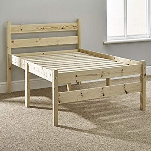 Strictly Beds and Bunks - Samson Pine Bed Frame, 4ft 6 Double
