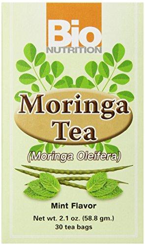 Bio Nutrition Mint Moringa Tea Bags, 2.1 Ounce