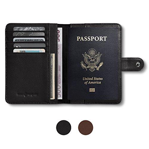 Blocking Leather Travel Passport Holder product image