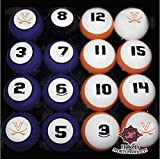 UVA VIRGINIA CAVALIERS NCAA Collegiate Billiards Pool Balls Sets College