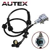 AUTEX ABS Wheel Speed Sensor Front Left/Right ALS625 compatible with 2005-2012 Nissan Frontier Pathfinder Xterra/2009-2012 Suzuki Equator