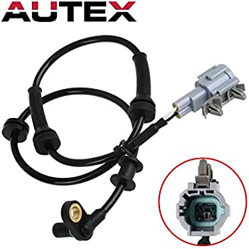 Front Left and Right 47910EA025 Compatible with 05-14 Nissan Frontier 05-12 Nissan Pathfinder MIKKUPPA 2pcs ABS Wheel Speed Sensor 09-12 Suzuki Equator