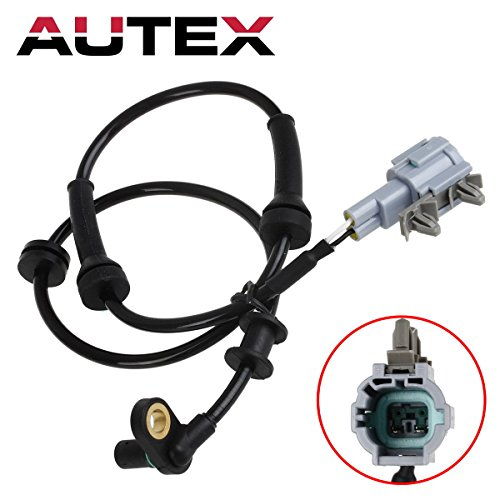 d Sensor Front Left/Right ALS625 For 2005-2012 Nissan Frontier Pathfinder Xterra/2009-2012 Suzuki Equator (Left Abs Speed Sensor)