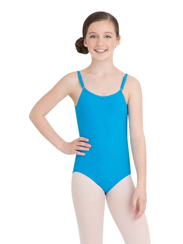 cfd2685d3 Amazon.com  Capezio Girls  Team Basic Camisole Leotard w Adjustable ...