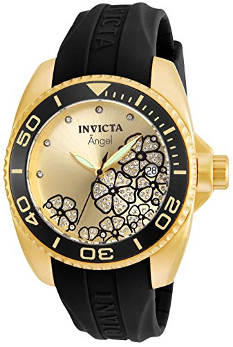 Invicta Angel Champagne Dial Ladies Watch 23488