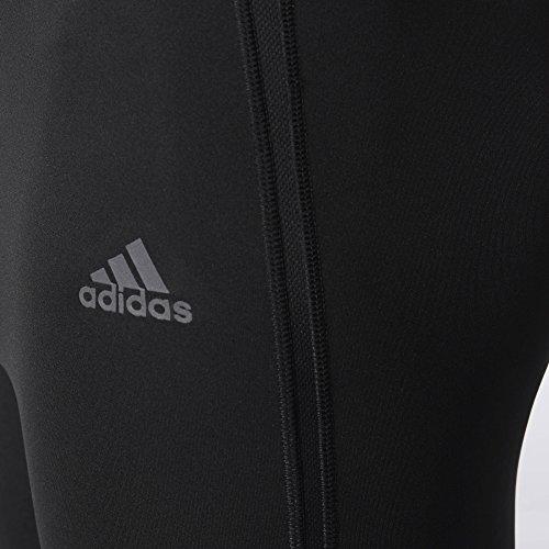 adidas Men's Running Response Long Tights, Black, Small by adidas (Image #2)