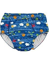 Boys Snap Reusable Absorbent Swimsuit Diaper