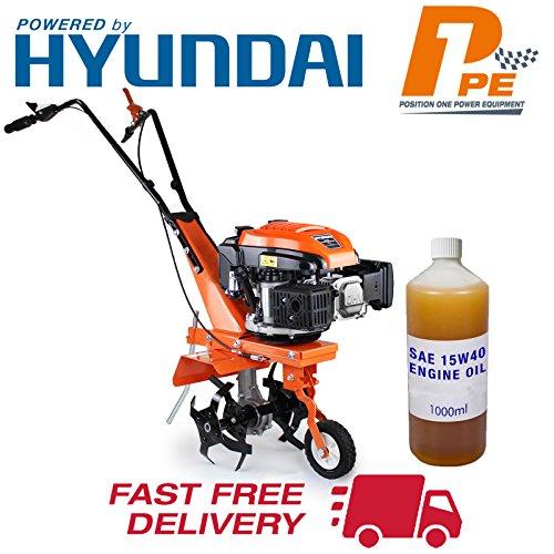 P1PE P140T Powerful Garden139cc 2.5kW 4-Stroke Petrol Soil Tiller Rotovator...