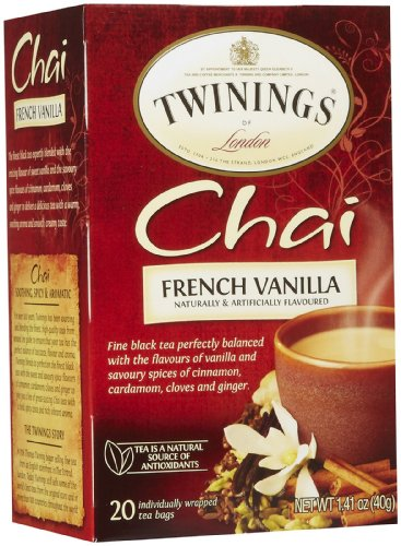 (Twinings French Vanilla Chai, 20 ct)