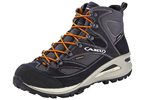 AKU Transalpina GTX Shoes Men Blue/Orange Größe 44 2016 Hikingschuhe