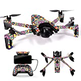 Cheap MightySkins Skin for Parrot Anafi Drone – Rainbow Kaleidoscope | Protective, Durable, and Unique Vinyl Decal wrap Cover | Easy to Apply, Remove, and Change Styles | Made in The USA