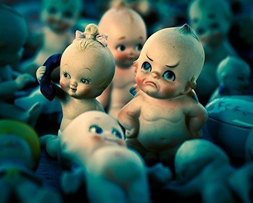 (Kewpie Doll Still Life Photo - Fine Art Photography Print)