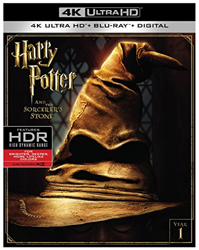 Harry Potter And The Sorcerers Stone  4K Ultra Hd   Blu Ray   Digital