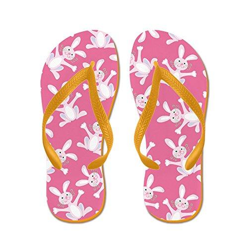 73b1fde3afd97 delicate CafePress - Easter Bunny - Flip Flops
