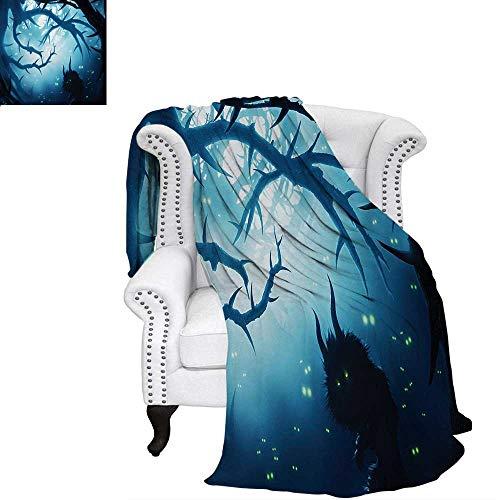 warmfamily Mystic Velvet Plush Throw Blanket Animal with