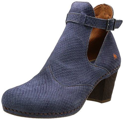 Women's Classics Meet Blue I Art Unlined Bootees and Blau Crepusculo Boots WnSaER