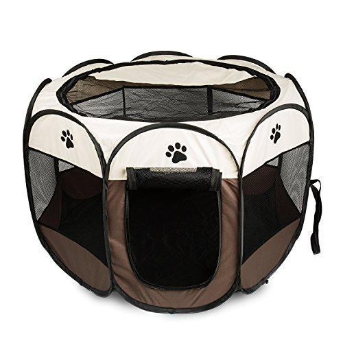 ビッグウィング Pet Play Pen Portable Foldable Puppy Dog Pet Cat ...