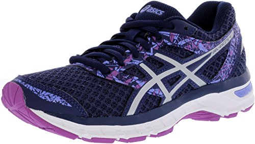 ASICS Women's Gel-Excite 4 Indigo Blue/Blue/Orchid Athletic Shoe 10.5 M US