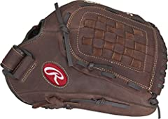 Featuring quality, full-grain oiled leather shells and all-leather laces for durability and strength, Rawlings Player Preferred Baseball Gloves are a great choice for recreational slow-pitch softball and baseball games. This adult baseball gl...