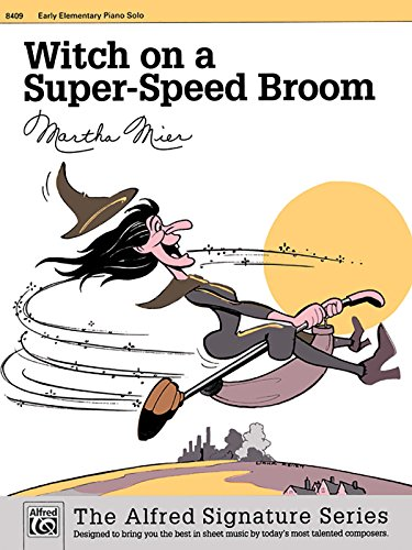 (Witch on a Super-Speed Broom: Sheet (The Alfred Signature)