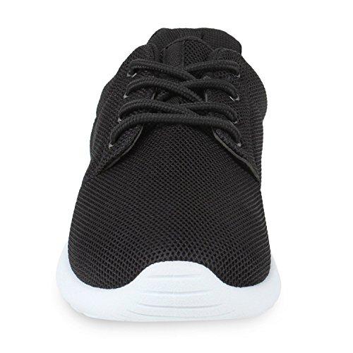 Stiefelparadies Stiefelparadies Donna Nero Sneaker nero Sneaker q6qr7PRw4